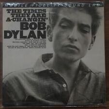 Bob Dylan - The Times They Are A-Changin 2LP [Vinyl New] #'d Ltd 180gm MOFI MFSL