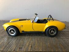 1965 Cobra 427 Roadster Yellow w/Black.  ERTL American Muscle 1/18 Scale Die-Cas
