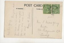 Miss E Mabel Young Necton Ladysmith Road Cardiff 1924 401b