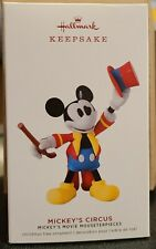 2019 Hallmark Keepsake Disney Mickey's Movie Mouseterpieces Mickey's Circus 2020