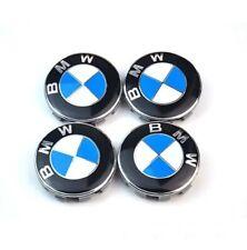 Lot 4 Centres Roue Cache Moyeu Logo Jante 56 mm Classic BMW Jantes Roues Neuf