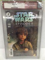 Star Wars: Episode 1 Anakin Skywalker #1 CGC 9.8 DFE Variant Dark Horse 1999