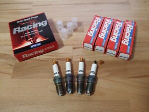 4x Ford Fiesta ST150 XR4 2.0i y2002-2010 = High Performance Silver Spark Plugs