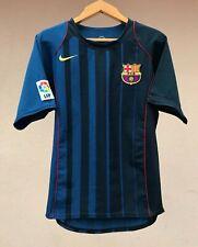 RARE BARCELONA SPAIN 2004/2005 AWAY NIKE FOOTBALL SOCCER SHIRT JERSEY CAMISETA
