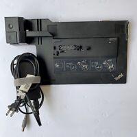 Lenovo Thinkpad Mini Dock Plus Series 3 USB 3.0 Laptop Replicator Station W Key