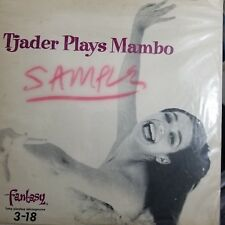 "Cal Tjader Plays Mambo.Fantasy Records 3-18 10"" Flat Edge-Promo Lp Plays Ex."