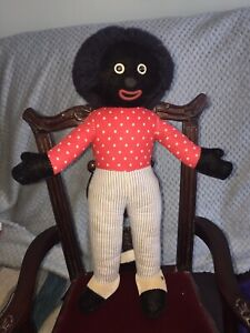 Merrythought Black Rag Doll