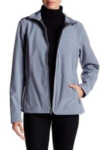 NWT Columbia Lookout Ridge Softshell Jacket Large Grey Ash MSRP $200