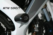 Suzuki GSXR600 K6 K7 K8 K9 L0 2006-2010 R&G BLACK crash protectors FRAME SLIDERS