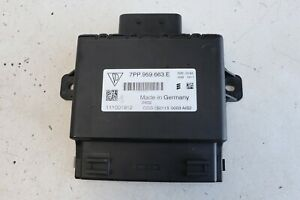 Porsche Cayman S 981 2013 Voltage Start Stop Control Unit ECU 7PP959663E J153