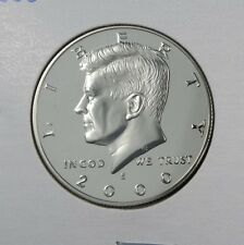 2000-S PROOF DCAM KENNEDY HALF DOLLAR DEEP CAMEO COPPER-NICKEL CLAD ***SELECT***