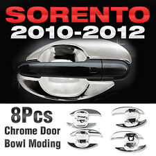 for 2010-2012 Kia Sorento R Chrome Door Bowl Under Molding Cover Garnish Trim