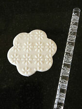 Texture Embossing ROLLING PIN N. 13 Daisy per lo Zucchero Craft