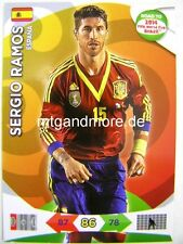 Adrenalyn XL - Sergio Ramos - Spanien - Road to 2014 FIFA World Cup Brazil