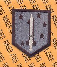 USMC 1st MSOB Marine Special Operations Battalion OEF patch