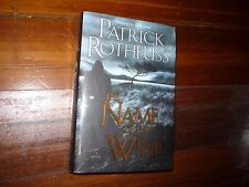 The Name of the Wind Patrick Rothfuss Signed
