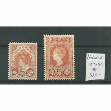 Nederland 104-105 Opruimingsuitgifte MH/ongebr  CV 325 €
