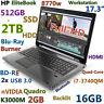 """# 17.3"""" Workstation HP 8770W i7-QUAD (BD-RE 512GB-SSD+2TB 16GB) Quadro K3000M"""