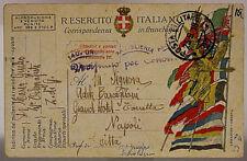 POSTA MILITARE 27 TIMBRO 140° GRUPPO ARTIGLIERIA 23.9.1918 #XP357B
