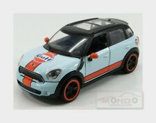 Mini cooper S Countryman Gulf 2010 Light Blue Orange MOTORMAX 1:24 MTM79653