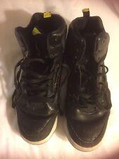 2014 Nike Air Jordan Flight Remix Black Yellow Basketball Sneakers Men's Size 11