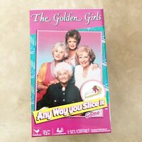 Cardinal The Golden Girls Any Way You Slice It Trivia Game New Other