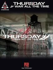 Thursday - War All the Time (2004, Paperback) Songbook Sheet Music Song Book
