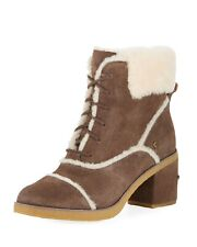 UGG Australia Esterly Brown Suede Lace Up Boots Size 11 US