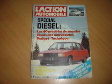 action auto N°263 Spécial Diésel