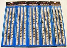 "15 CAL-HAWK SOCKET RACK RAILS ORGANIZER HOLDER 1/4"" 3/8"" 1/2"" 16 CLIPS PER RAIL"