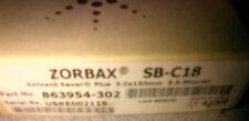 New Agilent HPLC column Zorbax SB-C18 3.5um 3x150 mm P/N 863954-392