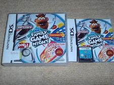 FAMILY GAME NIGHT   - Rare Nintendo DS Game