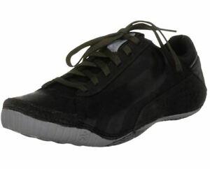 CUSHE Men's Boutique Leather Trainers Shoes Pumps Fashion Sneakers Black Size
