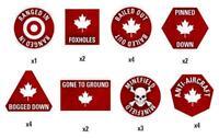 Team Yankee Canadian Token Set Canada TTK06