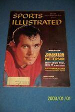 1960 Sports Illustrated INGEMAR JOHANSSON vs FLOYD PATTERSON Championship SWEDEN