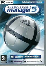 Championship Manager 5 - Brand New and Sealed - DVD-Box - PC-Soccer Manager