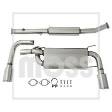 MAZDA MX5 MK1 CAT BACK STAINLESS STEEL DUAL TIP EXHAUST SYSTEM - 900-492 MX5/P4