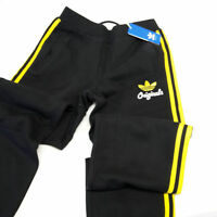 Adidas Originals SPO Fleece Track Pant Trainingshose schwarz Training Hose Gr. S