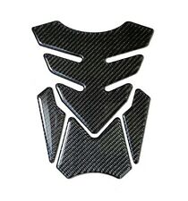 MOTORCYCLE GAS FUEL OIL TANK PAD PROTECTOR STICKER  REAL CARBON FIBER TNKP-05