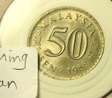 Malaysia 50 Sen 1988 UNC++