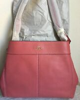 NWT COACH LEXY SHOULDER BAG IN PEBBLE LEATHER F28997 $395 Cherry Original Packin