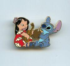 Disney Disneyland Cast Exclusive Ukulele Lilo & Stitch Coconut Drink LE Pin
