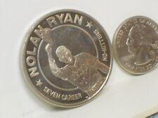 Vtg. 1993 MLB Nolan Ryan Liberian Dollar Coin in Case