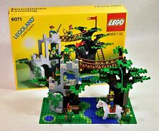 LEGO Castle 6071 Forestmen's Crossing Complete With Box and Instructions