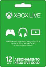 Microsoft Xbox Live Abbonamento 12 Mesi (S4T-00026)