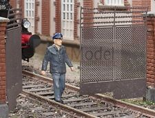 Cancello con pilastrini kit H0