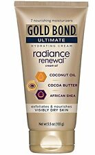 2 Pack Gold Bond Ultimate Radiance Renewal Cream Oil 5.5oz Each