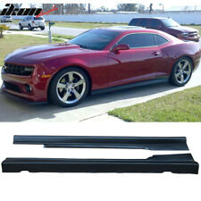 Fits 10-15 Chevy Chevrolet Camaro ZL1 Style Side Skirt Rocker Panels Body Kit