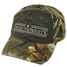Duck Dynasty A&e TV Series Realtree Distressed Camouflage Suede Buckle Hat Cap