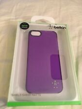 Belkin Shield Sheet Matte (purple) - For iPhone 5/5s